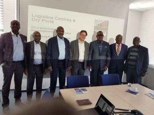 Anagu consulting seminar on Dry Port